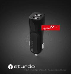 Strudo Pro Sport autonabíječka 2x USB, černá