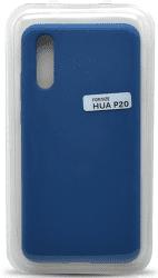 Mobilnet silikonové pouzdro pro Huawei P20, modré