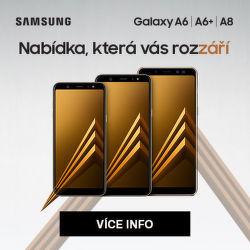 Cashback 2 000 Kč na Samsung Galaxy A6 / A6+ / A8