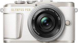 Olympus PEN E-PL9 bílá + M.Zuiko 14-42 mm vystavený kus splnou zárukou