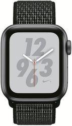 Apple Watch Series 4 Nike+ 40mm vesmírně šedý hliník/černý provlékací sportovní řemínek Nike vystavený kus splnou zárukou