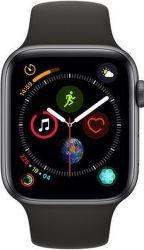 Apple Watch Series 4 44mm vesmírně šedý hliník/sportovní černý řemínek