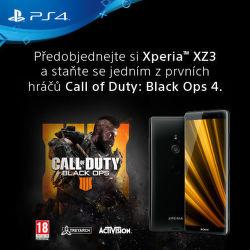 Dárek k předobjednávce Sony Xperia XZ3