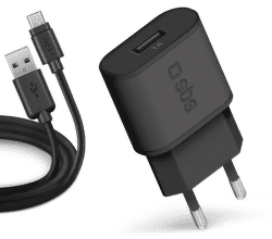 SBS USB nabíječka 1A + microUSB kabel