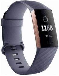 Fitbit Charge 3 růžovo-zlatý se šedým řemínkem