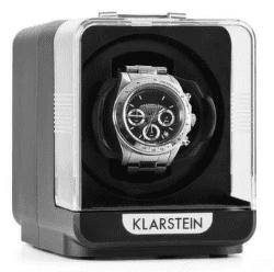 Klarstein Eichendorff černý, stojan na hodinky