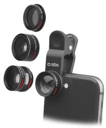 SBS 5v1 fotografické čočky na chytrý telefon