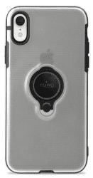 Puro Magnetic Ring pouzdro pro iPhone Xr, černá