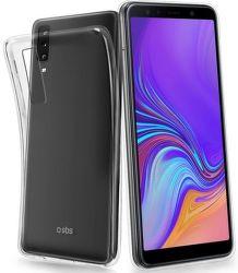 SBS Skinny pouzdro pro Samsung Galxy A7 2018, transparentní