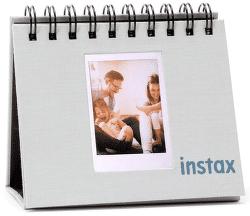 Fujifilm Instax Twin Mini Flip Album, kouřově bílá