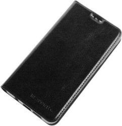 Redpoint flipové pouzdro Slim Magnetic pro Huawei Y5 2018, černá