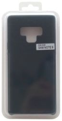 Mobilnet silikonové pouzdro pro Samsung Galaxy Note9, černá