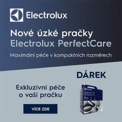 Exkluzivní péče zdarma k pračkám Electrolux