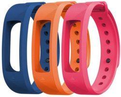 Evolveo řemínek pro FitBand B2, modrá/oranžová/růžová