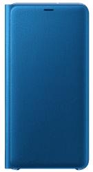 Samsung Wallet Case knížkové pouzdro pro Samsung Galaxy A7 2018, modrá