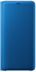 Samsung Wallet Case knížkové pouzdro pro Samsung Galaxy A9 2018, modrá