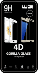 Winner 4D ochranné tvrzené pro sklo iPhone XR/iPhone 11, černá