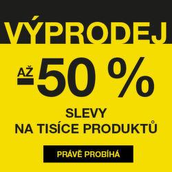 Povánoční výprodej - slevy až 50 %