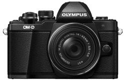 Olympus E-M10 Mark II černý + Pancake 14-42 EZ Kit