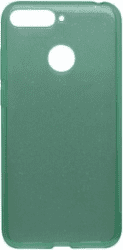 Mobilnet Crystal silikonové pouzdro pro Huawei Y6 Prime 2018, zelená