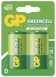 GP Greencell R20 (D), 2 ks