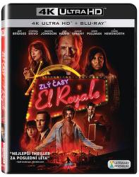 Zlý časy v El Roya - UHD 2 x Blu-Ray