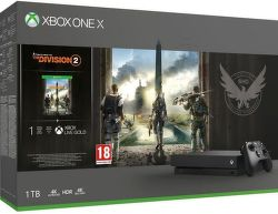 Microsoft Xbox One X 1 TB + Tom Clancy's The Division 2