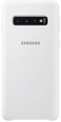 Samsung silikonové pouzdro pro Samsung Galaxy S10+, bílá
