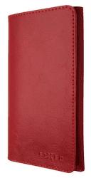 Fixed Pocket Book kožené pouzdro pro Apple iPhone X/Xs, červená
