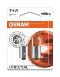 OSRAM T4W 12V 4W Autožárovka 2ks