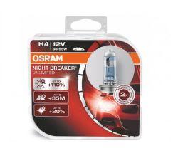 OSRAM H4 Night Breaker Unlimited, Autožárovka 12 V/60 W