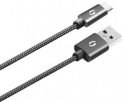 Aligator datový kabel USB-C 1 m černý
