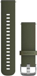 Garmin Quick Release 20 mm silikonový řemínek, zelená