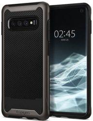 Spigen Hybrid NX pouzdro pro Samsung Galaxy S10, metalická