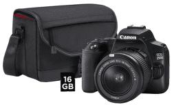 Canon EOS 250D + 18-55 mm DC III + CB-SB130 + 16 GB paměťová karta