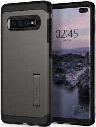 Spigen Tough Armor pouzdro pro Samsung Galaxy S10+, metalická