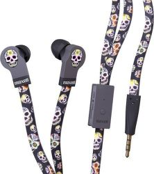 Maxell Flat Wire Ep Skull