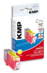 KMP C76 komp.recykl.náplň CLI-521Y