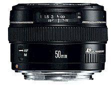 Canon EF 50 mm f/1,4 USM - objektiv