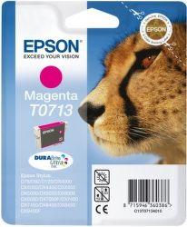 Epson T0713 magenta (gepard) - inkoustová náplň