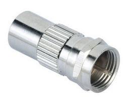 HAMA 122485 SAT redukce F-vidlice - koaxiální vidlice