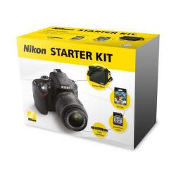 Nikon Starter Kit - set pro zrcadlovky