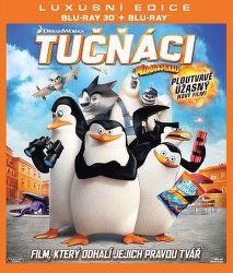 Tučňáci z Madagaskaru -3D film Blu-Ray