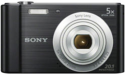 Sony CyberShot DSC-W800 (černý)