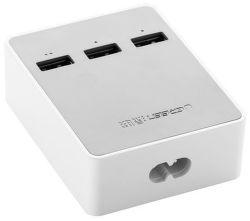 UGREEN 20360 USB nabíjecí stanice 3x portová - bílá