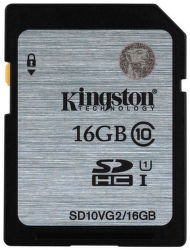 Kingston SDHC 16GB class 10