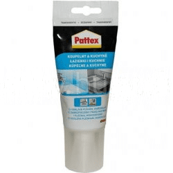 PATTEX Sanitárny silikón - transparent 50 ml