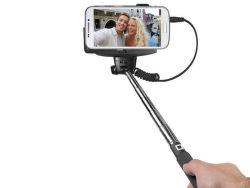 SBS selfie tyč s 3.5 mm konektorem 1 m, černá
