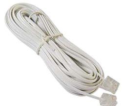 Smarton kabel tel. prodlužovací, 15m (bílý)