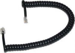 Smarton kroucený tel. kabel, 2m (černý)